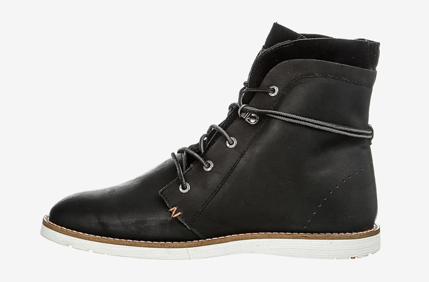 Hub Footwear — pánské zimní boty s kožešinou, vysoké, kotníkové, černé, kožené, winter boots
