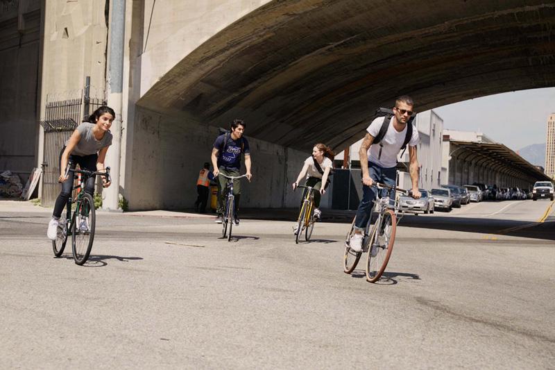 Levi's — cyklistické oblečení, oblečení pro cyklisty — podzim 2015