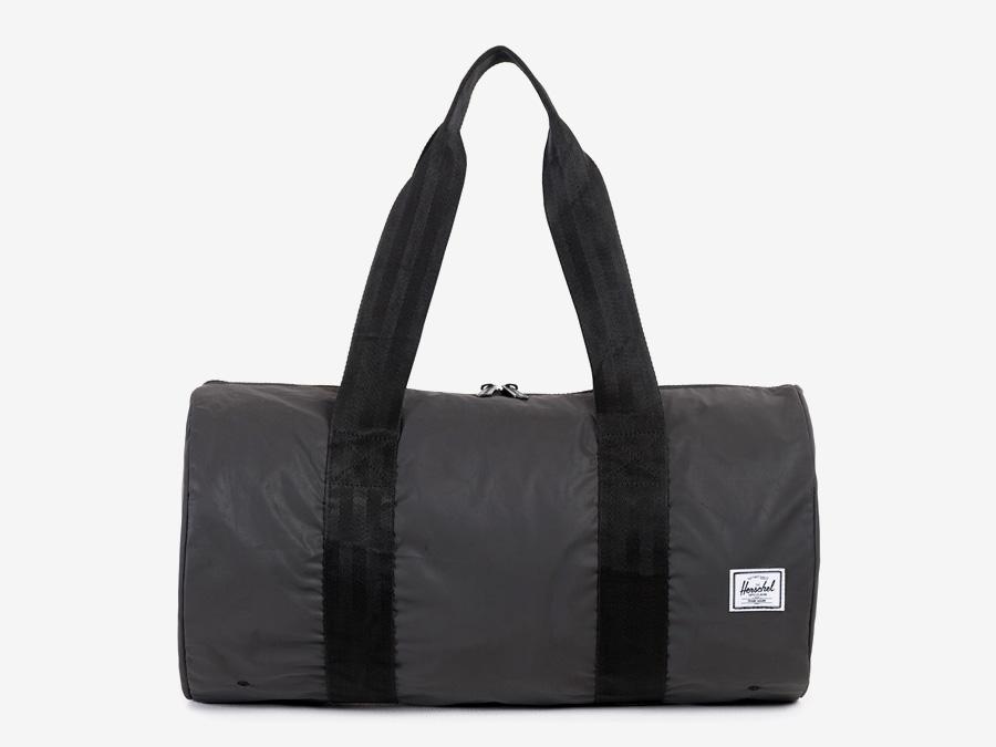 Herschel Supply — skládací taška, stříbrná, šedá — Day/Night — Packable Duffle