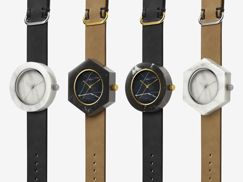 Analog Watch Co. — hodinky z mramoru — marble watches