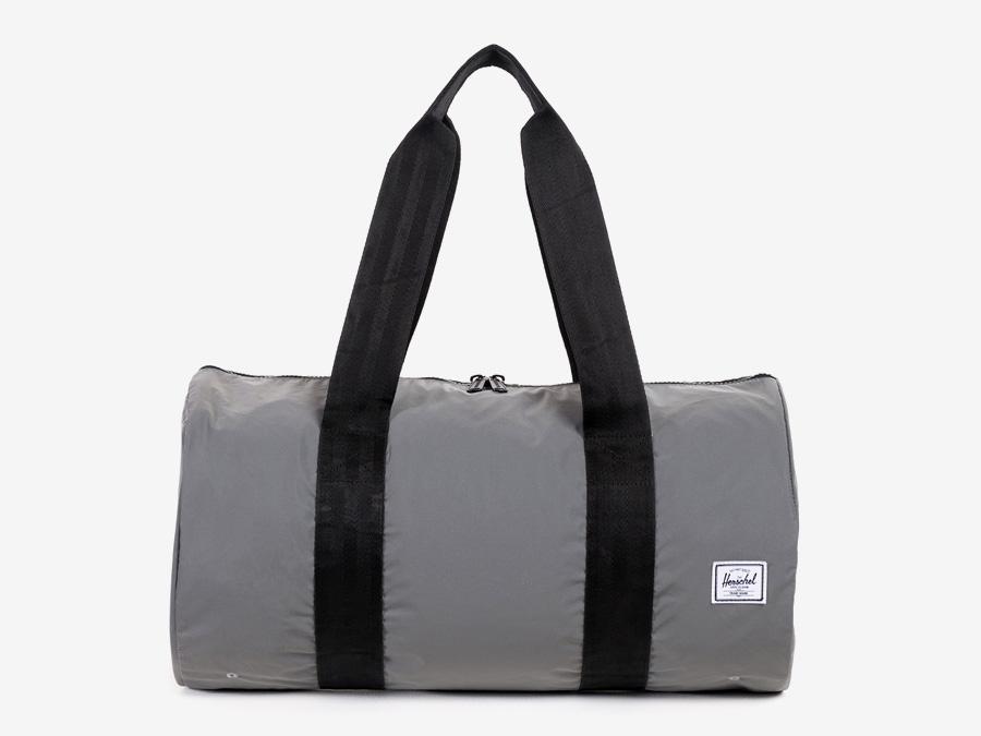 Herschel Supply — skládací taška, černá — Day/Night — Packable Duffle