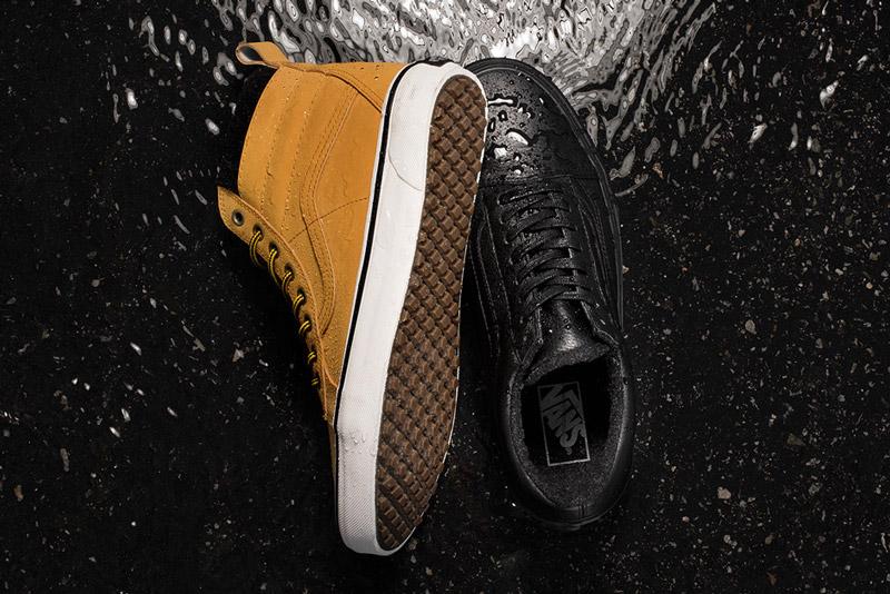 Vans — Mountain Edition — kotníkové boty SK8-Hi MTE, podzimní/zimní, horčicové, nízké černé tenisky Old Skool MTE