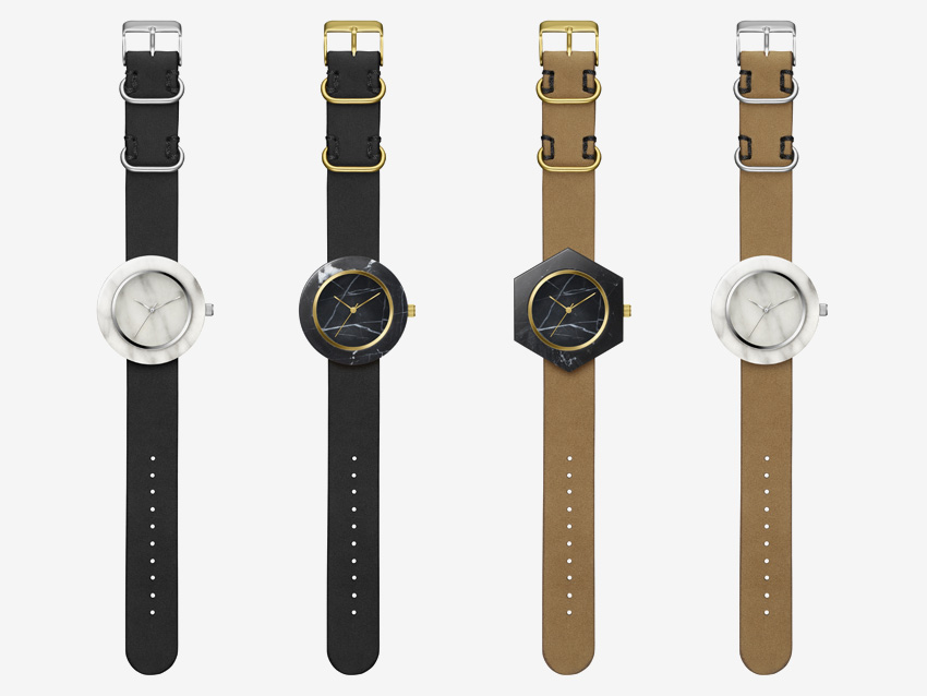 Analog Watch Co. — mramorove hodinky — marble watches