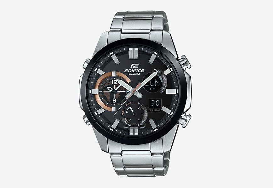 Casio Edifice ERA 500 — pánské hodinky, náramkové, analogové, digitální, luxusní