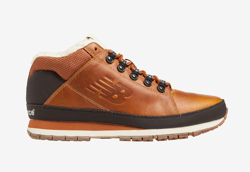 New Balance H754 — pánské zimní boty s kožešinou, kožené