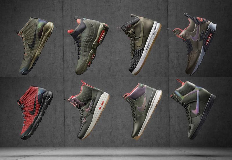 Nike SneakerBoots 2015 — dámské a pánské zimní boty, zateplené, voděodolné
