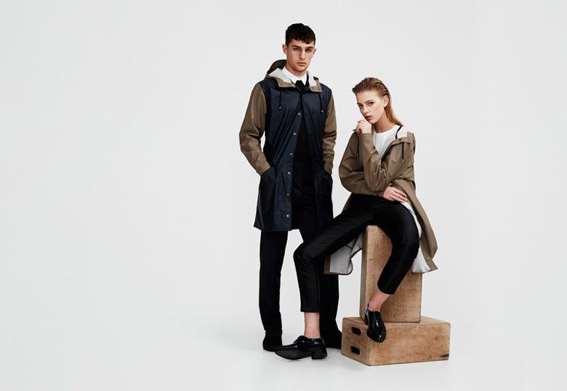 Rains — nepromokavé bundy, pršipláště s kapucí — pánske dámské — podzim/zima 2015