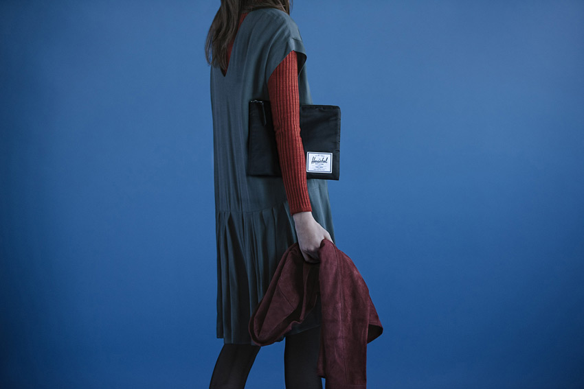 Herschel Supply — stylové nylonové batohy a tašky — pouzdro na dokumenty, spisovka — Network Pouch | L