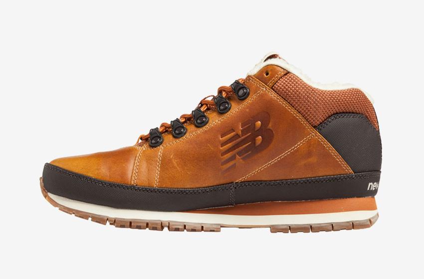New Balance — H754LFT — pánské zimní boty s kožešinou — hnědé a91e015d42