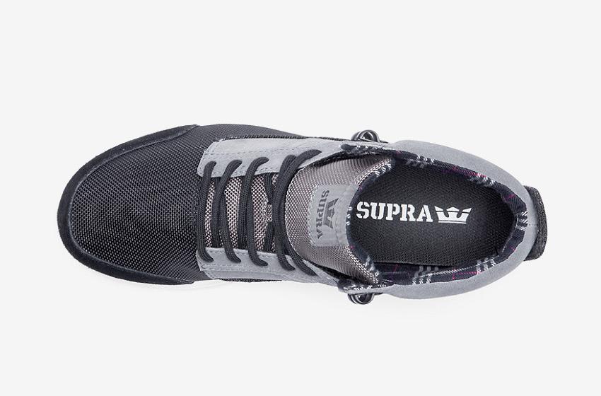 Boty Supra Bandito — kotníkové, vysoké zimní — dámské, pánské — tmavě šedé