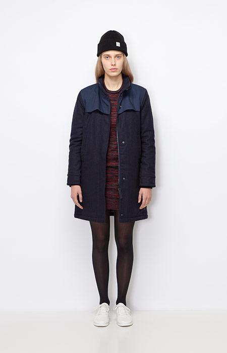 Ucon Acrobatics — dámský modrý kabát, zimní — dámské oblečení podzim/zima 2015