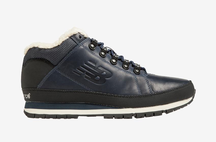 New Balance — H754LFN — pánské zimní boty s kožešinou — tmavě modré bc326ab792