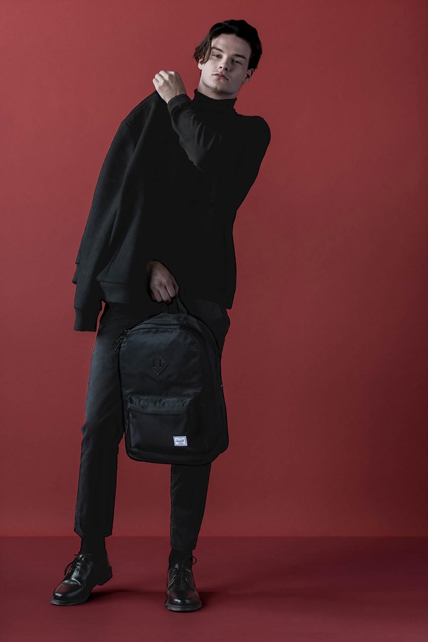 Herschel Supply — stylové nylonové batohy a tašky — batoh na záda — Heritage Backpack