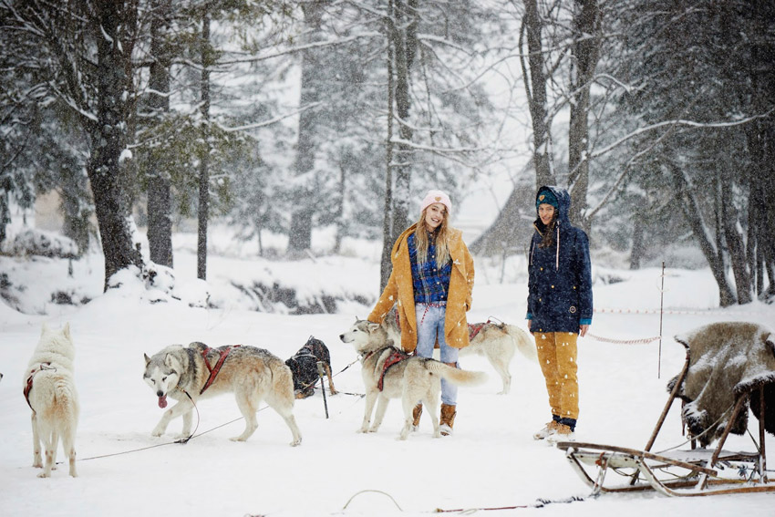 Femi Pleasure — dámské zimní bundy — dámské oblečení podzim/zima — fall/winter 2015