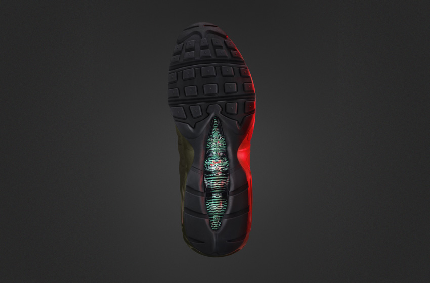 Nike Air Max 95 SneakerBoot — pánské zimní boty, vysoké kotníkové, podrážka