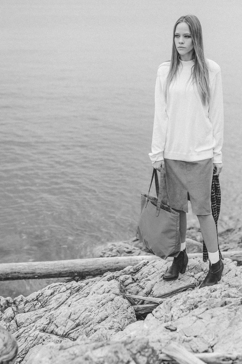 Herschel Supply Co. — dámská městská taška do ruky — Richmond Women's Tote — holiday lookbook 2015