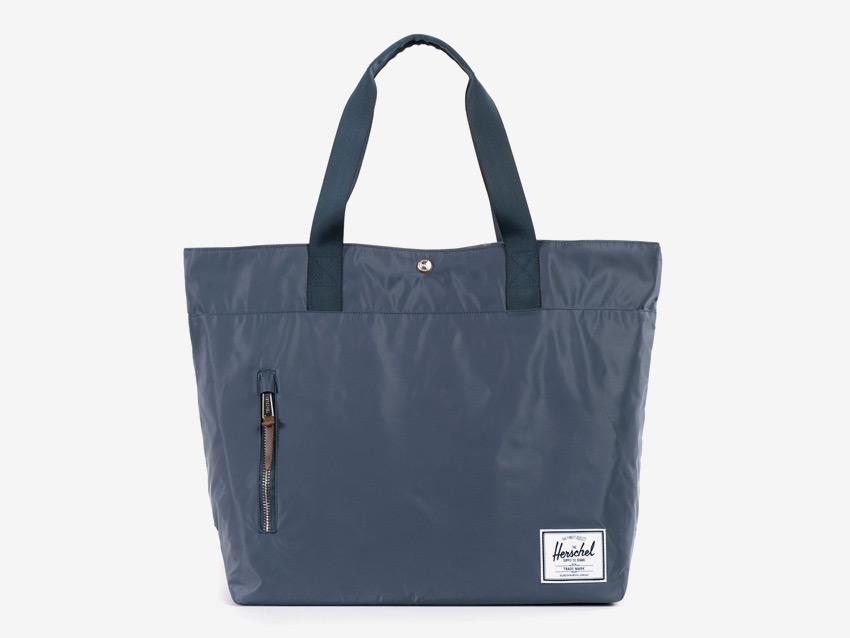 Herschel Supply — nákupní městská taška — Alexander Tote — modrá