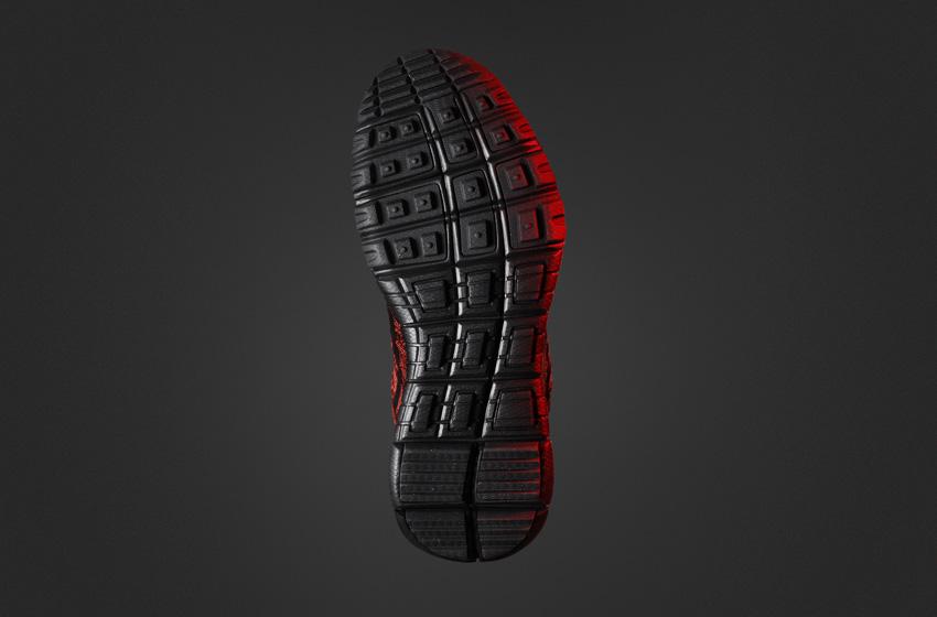 Nike Flyknit Trainer Chukka SneakerBoot — dámské zimní boty, kotníkové, podrážka
