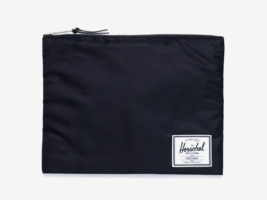 Herschel Supply — pouzdro na dokumenty, spisovka — Network Pouch | XL — černé