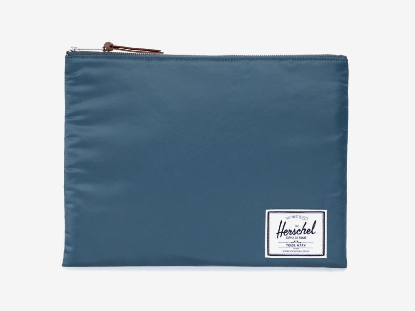 Herschel Supply — pouzdro na dokumenty, spisovka — Network Pouch | XL — modré