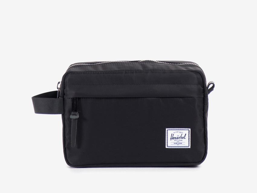 Herschel Supply — cestovní toaletní taška — Chapter Travel Kit — černá