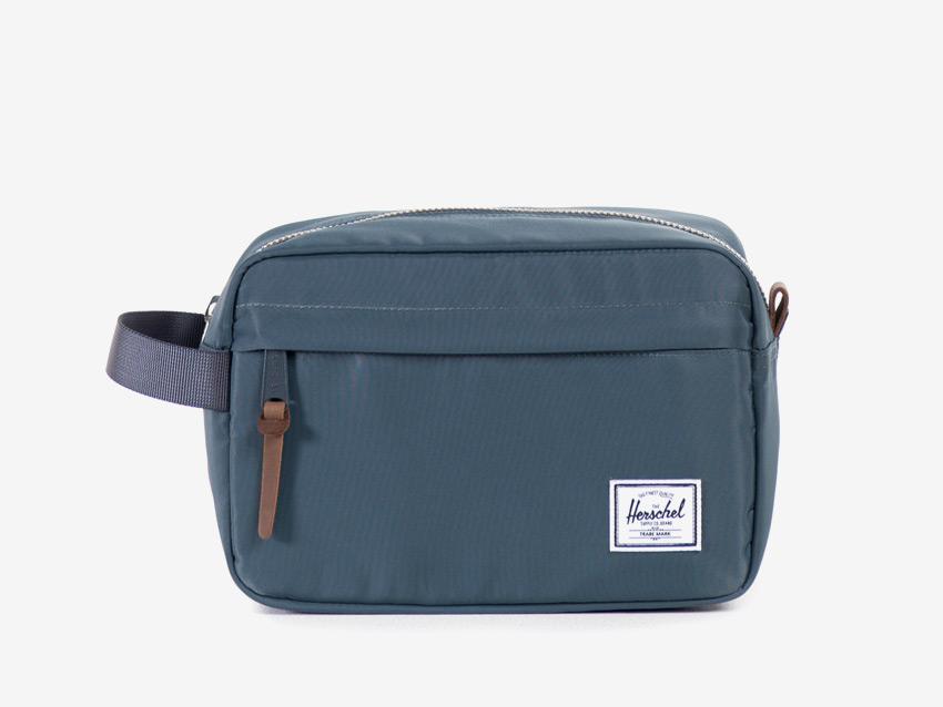 Herschel Supply — cestovní toaletní taška — Chapter Travel Kit — modrá