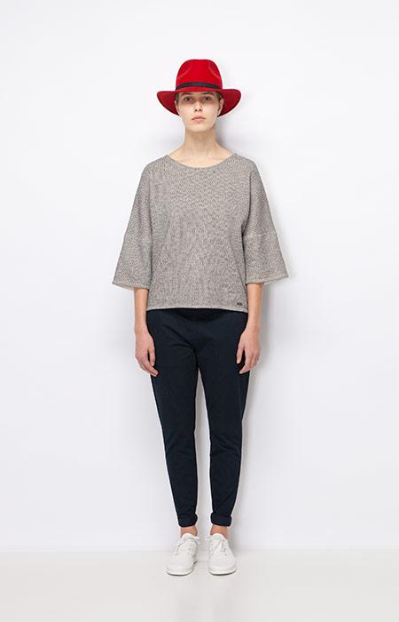 Ucon Acrobatics — dámský šedý svetr — dámské oblečení podzim/zima 2015
