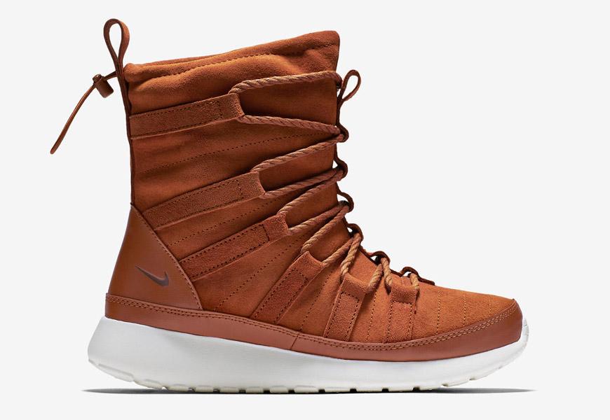 Dámské sněhule Nike Roshe One Hi Suede, vysoké zimní boty
