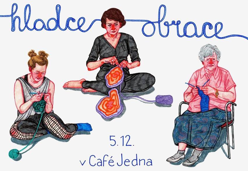Workshop Hladce obrace — naučte se plést ponožky jako od babičky
