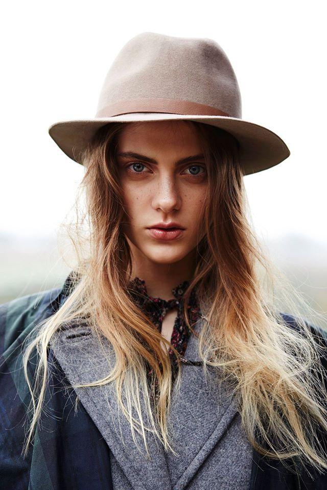 Paris+Hendzel — dámský klobouk, elegantní, hnědo-šedý, headwear