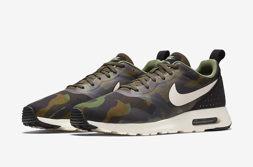 Nike Air Max Tavas Camo — maskáčové boty — pánské tenisky, sneakers