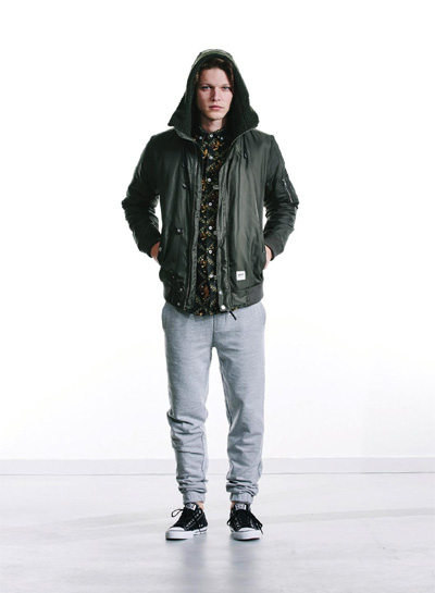 Wemoto — podzimní/zimní bunda do pasu s kapucí — pánská — podzim/zima 2015