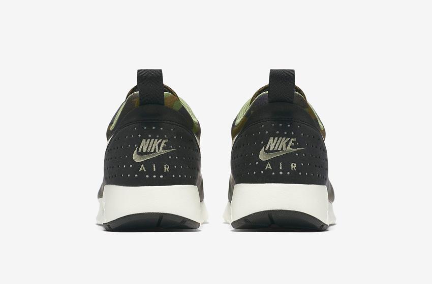 Nike Air Max Tavas Camo — pánské boty — maskáčové tenisky, sneakers — paty