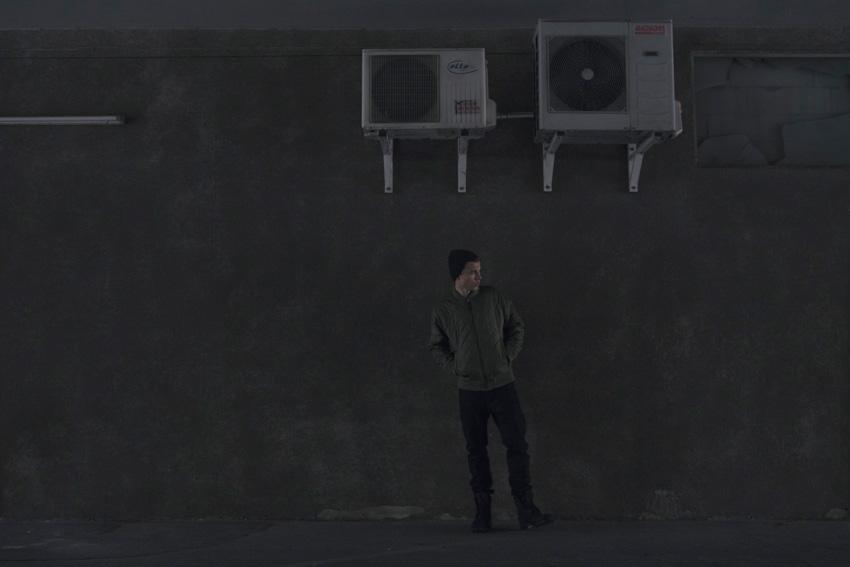 Backyard Cartel — pánský bomber, podzimní/zimní, street — prošívaná bunda do pasu, zelená (olivová)
