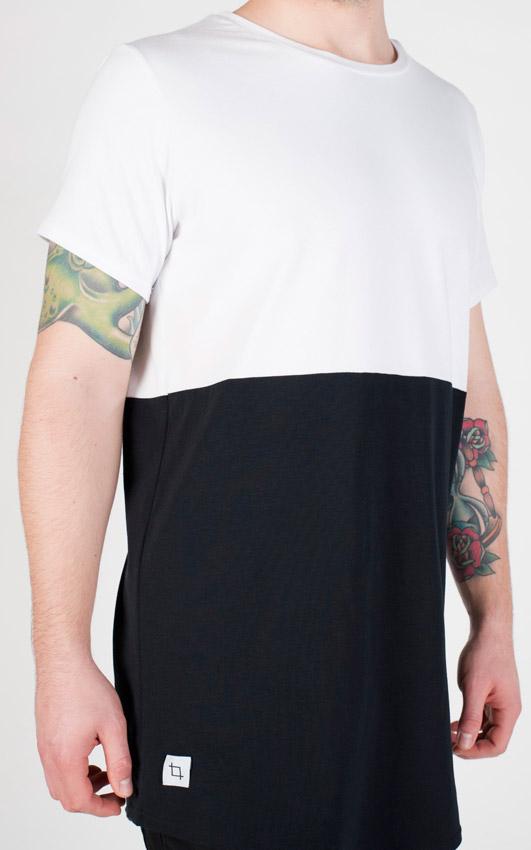 Pattern — černo-bílé tričko — pánské