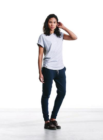 Wemoto — dámské světlé proužkované tričko — podzim/zima 2015