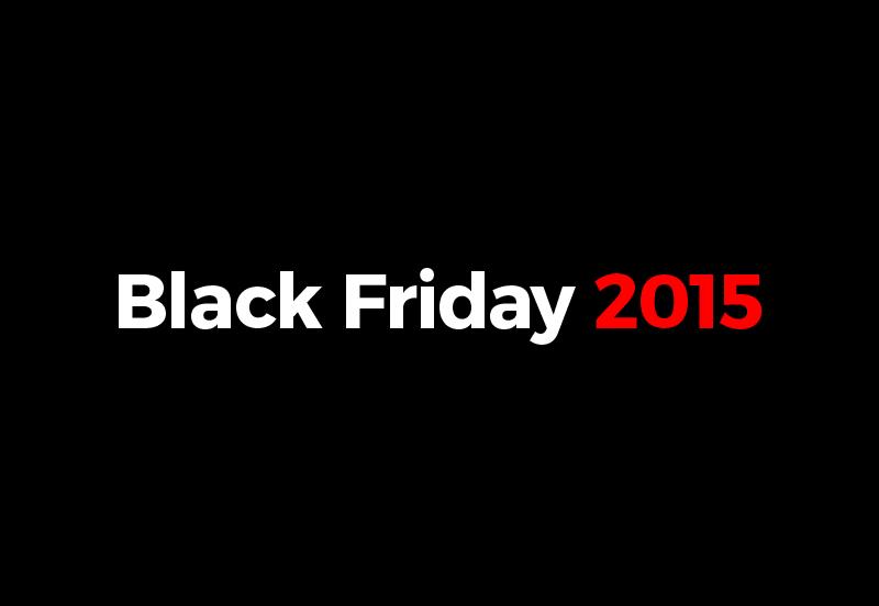 Black Friday — černý pátek — 2015 — předvánoční slevy