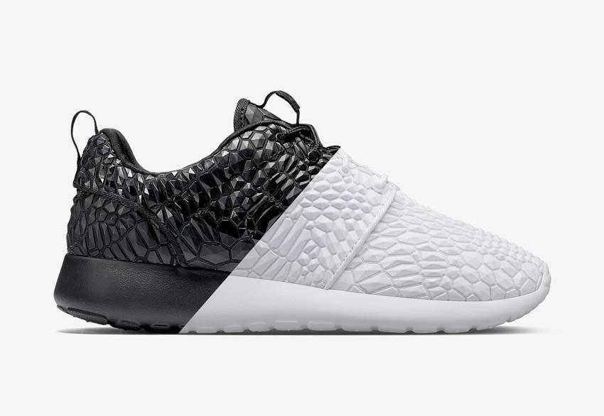 Nike Roshe One DMB (Diamondback) — dámské — černé, bílé