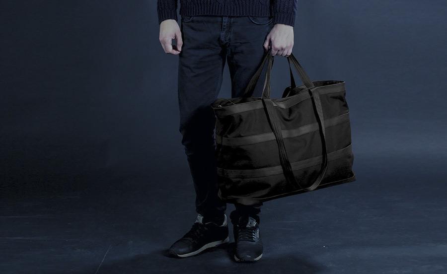 PX — Invisible Duffel — taška, cestovní, nepromokavá, voděodolná — nylonová, do ruky, přes rameno