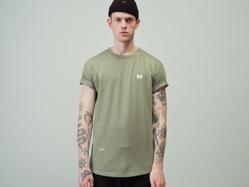Zirkus Zirkus — Nomads — bledě zelené tričko s potiskem na zádech, light green t-shirt — podzim/zima 2015