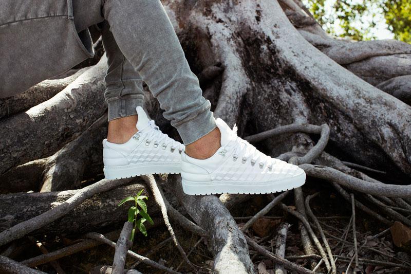 Filling Pieces — bílé boty, tenisky, sneakers — pánské, dámské — lookbook – jaro/léto 2016