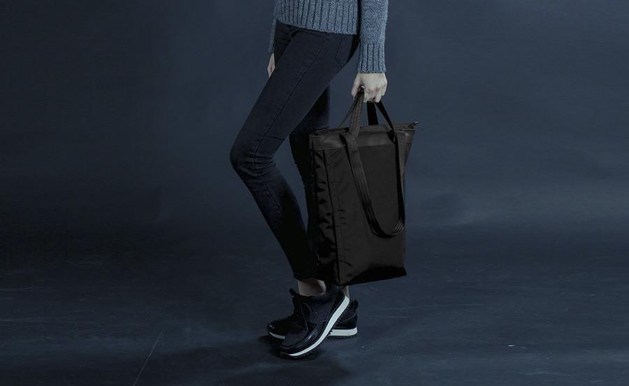 PX — Invisible Tote — taška přes rameno, do ruky, městská, nákupní, vysoká — voděodolná z nylonu