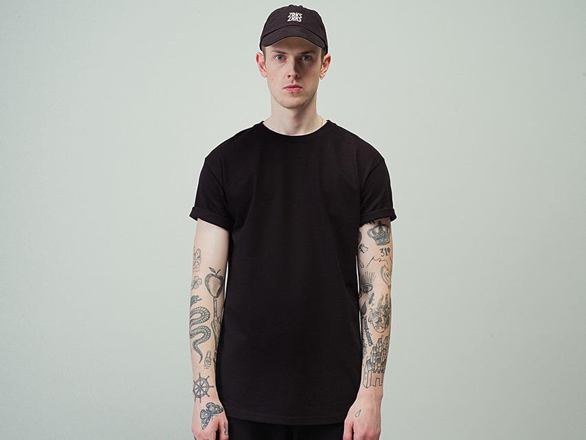 Zirkus Zirkus — Nomads — černé tričko bez potisku, pánské, dámské, black t-shirt — podzim/zima 2015