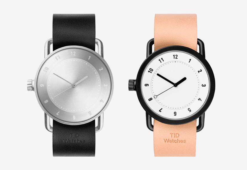 TID Watches — švédské designové hodinky — dámské, pánské