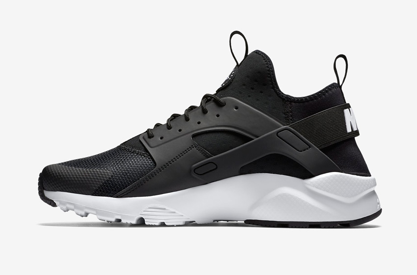 Nike Air Huarache Ultra — pánské boty, sneakers, běžecké — černé