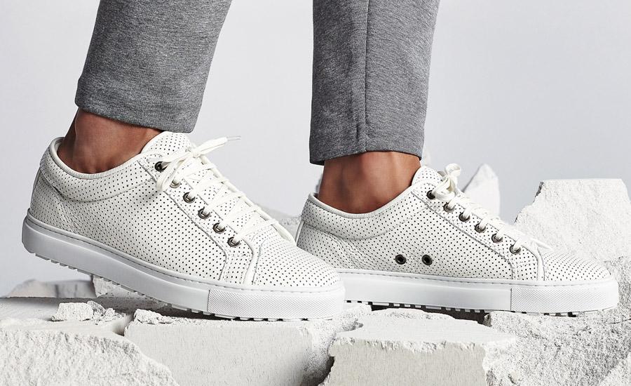 ETQ Amsterdam — Low 1 — nízké tenisky, luxusní sneakers, boty — bílé, smetanové — dámské, pánské, unisex — lookbook jaro/léto 2016