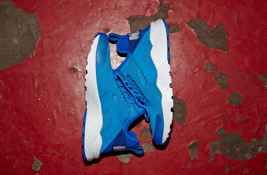 Nike Air Huarache Ultra — boty, dámské, lehké běžecké sneakers — modré