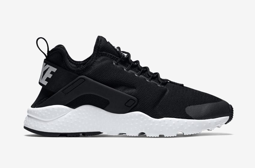 Nike Air Huarache Ultra — dámské boty, sneakers, běžecké — černé