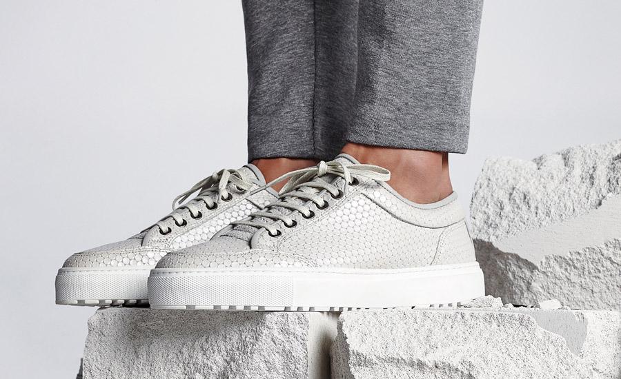 ETQ Amsterdam — Low 2 — nízké boty, tenisky, sneakers, kožené — bílé, smetanové — dámské, pánské, unisex — lookbook jaro/léto 2016