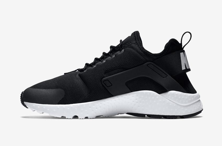 Nike Air Huarache Ultra — dámské tenisky, běžecké boty, sneakers — černé